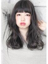 ヘアサロン ガリカ 表参道(hair salon Gallica)☆ グレージュ & ダメージレスパーマ☆外国人風 小顔セミロング