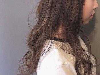 エクラロル(hair&make e'clat Lol)の写真/【ダメージを抑えた薬剤厳選☆】透明感のあるトレンドスタイルをダメージレスに実現!ロング料金なし◎