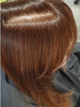 クーペ(coupe)の写真/【明るくても染まる白髪染め】施術を繰り返すたびに髪がキレイに、扱いやすいお気に入りカラーへ♪