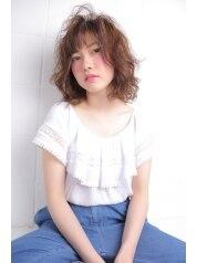 【新春クーポン♪】カット+パーマ+高濃度トリートメント13500→10800円