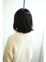 リーフ ヘア(Lief hair)ナチュラルブラック外ハネ