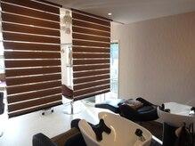 ゼジル ヘアー デザイン(ZEJL Hair Design)の雰囲気(仕切り空間で泡シェービングを体験♪TEL019-613-8373)