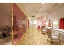 シルキー(Silky)の雰囲気(可愛いピンクの店内で、気分もアガる♪♪)