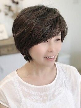 ヘアアンドリラックス アプリコット(hair&relax apricot)の写真/年齢を重ねる度に美しく…。髪と頭皮を労わりながら白髪をカバー。ヘアからエイジングケアを♪