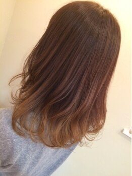 モイヘアーデザイン(moi hair design)の写真/肌や目の色に合わせた『似合わせ』カラーをご提案!【カラー+モイスチャートリートメント(カット別)¥8700】