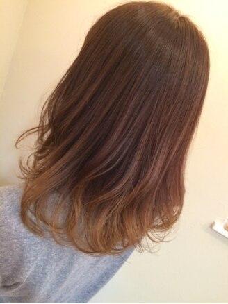 モイヘアーデザイン(moi hair design)の写真/肌や目の色に合わせた『似合わせ』カラーをご提案!【カラー+モイスチャートリートメント(カット別)¥8900】