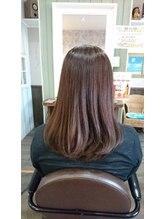 ヘアサロンアンドリラクゼーション マハナ(Hair salon&Relaxation mahana)まとまりやすいセミロング!