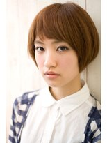ジョエミバイアンアミ(joemi by Un ami)【joemi】カットで決まる☆小顔すっきりベビーショート(大島)