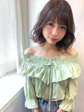 フォセット (fossette)【fossette銀座】大人かわいい小顔シースルーバングゆるふわボブ