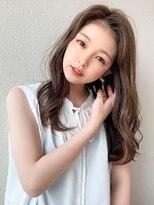 シェルハ(XELHA)アフロート斎藤 20代30代髪型長め前髪セミロング大人かわいい