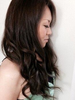 ヘアラウンジ チェルシー(Hair lounge CHELSEA)の写真/【ふんわり柔らかカール♪】圧倒的なスピーディさ、最高レベルのトリートメントカールを体感してみて☆