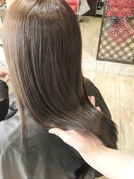 プルラヴィ みやき町三根店(PulRavi)の写真/【インプライム取扱い☆】憧れで染めすぎちゃった外国人風カラーダメージも内部から髪質改善♪