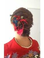フェリーチェ(Felice)【Felice】和装編み込みヘア