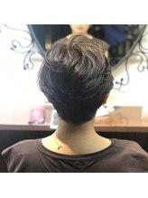 髪質改善ヘアエステ アリュール(allure)☆髪質改善で作るハンサムショート×アッシュグレー☆