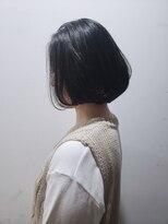 アーシェ 横浜店(A'SHE)黒髪ショートボブ