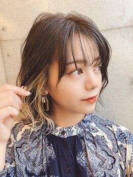 リバティーエー 西大島店(LIBERTY-A)の写真/話題の<イルミナカラー>は、ダメージを最小限に抑えながら透明感溢れる艶髪に☆手触りの良さが特徴!