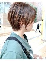 モッズヘア 仙台PARCO店(mod's hair)【奥山】◆ショートボブ◆