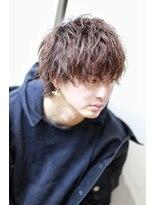 リップスヘアー 銀座(LIPPS hair)ウルフパーマ『イノブラスト』