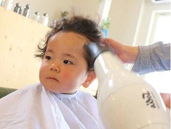 シキ(shiki)の写真/【キッズスペースあり】お母さんも安心♪プライベートサロンだからこそ、親子の時間を楽しめる☆
