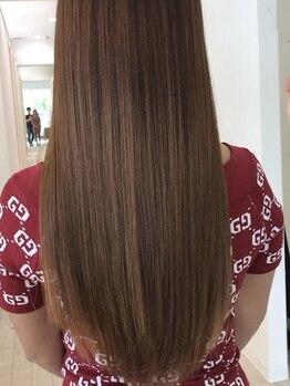 アトリエ ココ(CoCo)の写真/髪質改善で毛先までしっとり、艶やかな美髪へ!今までにない手触りを体感してみてください☆