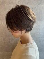 ブリック ヘアアンドスパ 松山(BRICK HAIR&SPA)short beige