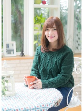 オーブ ヘアー ルル 京都四条通り店(AUBE HAIR lulu)軽やかキュート☆カールスタイル