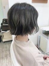 アグリエイブル(hair Agreeable)外国人風カラー