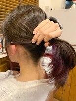 テトラ ヘアー(TETRA hair)インナーカラーバイオレット