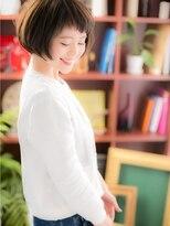 *+COVER HAIR+*…゛短めバング゛で、脱!☆定番ボブc