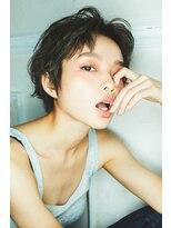 マージュ ギンザ(marju GINZA)ジェンダーレスニュアンスショート☆クールダークグレージュ