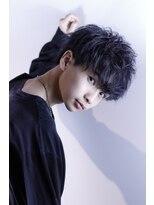 リップスヘアー 梅田アネックス(LIPPS hair)Vマッシュ【ダークパープル】