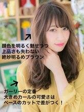 カバーヘア ブリス 戸田公園西口店(COVER HAIR bliss)*bliss戸田公園*外国人風☆こなれアシンメトリーフェザーロング!