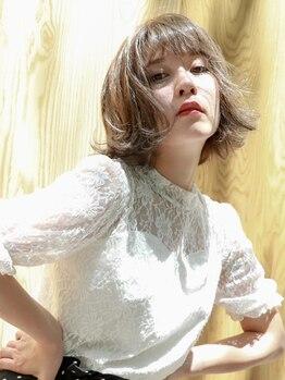 ナイン (Nine9)の写真/【イルミナorアディクシーカラー+カット¥7000/プレTR付】憧れの外国人風透明感Styleに★インナーカラーも◎