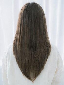 アレックスヘアコンシェルジュ (ALex Hair concierge)の写真/『新規☆カット+縮毛矯正コースTR付(※水素炭酸今なら無料)¥18900~→¥12285~』ダメージを軽減!