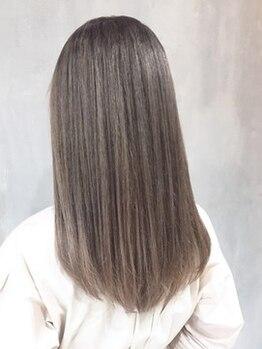 シンヤ ヘアーズ アニマ 泉大津(SHINYA HAIRS anima)の写真/【泉大津】john masters organicsのアルガンオイルを贅沢に配合☆潤いあふれる艶髪ストレートを実現♪