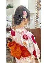 サロンド クラフト(salon de craft)【浴衣】キュートな浴衣スタイル♪