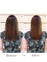テイルウインド(Tailwind)ケラチンストレートリートメント◎くせ毛ダメージ修復/髪質改善