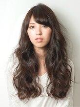 ヘアーメイク ユニオン(HAIR MAKE UNiON)ランダムカールで外国人風ロング【HAIR MAKE UNION】
