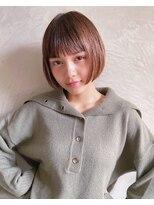 美容専門誌の選ぶショートヘアNo1 あごラインのミニボブ《銀座》
