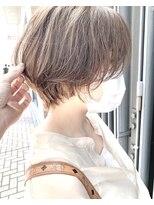 モッズヘア 仙台PARCO店(mod's hair)【奥山】オリーブグレージュ×ショートボブ♪