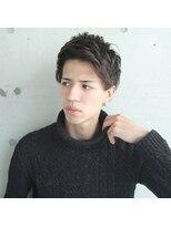 フェス カットアンドカラーズ(FESS cut&colors)『FESS 鶴丸』【スパイキーショート×束感ヘア】