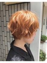 ヴィークス ヘア(vicus hair)【vicus hair】シャーベットオレンジ by 井上瑛絵