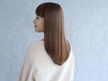 エミヲ 西新店(emiwo)の写真/髪質に合わせた施術でダメージを最小限に◎自然な仕上がりでうる艶ストレートが叶います★