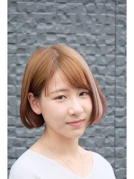 ガーデン ヘアー ワーク(garden hair work)初夏的bobStyle