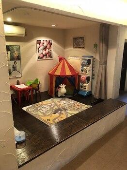 ウシワカマルガーデン(ushiwakamaru Garden)の写真/ベビーカーも置ける広々スペースが嬉しい♪≪清潔で広いキッズスペース完備◎≫是非ushiwakamaru Gardenへ!