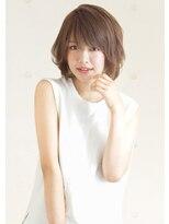 アドラーブル 女池店(adorable)丸みボブ 【インナーカラー/イルミナカラー/白髪染め/髪質改善】