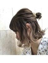 ラノバイヘアー(Lano by HAIR)【lano by hair 銀座】 外ハネボブ×インナーカラー