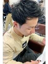 ヘアーアイスカルテット(HAIR ICI QUARTET)ジェットモヒカン ピンパーマ 骨格矯正パーマ