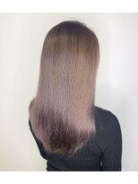 ガーデン ヘアーアンドボタニカル(Garden hair&botanical)【ロングスタイル】ライラックピンクカラー