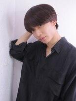 アルバム シンジュク(ALBUM SHINJUKU)韓流ニュアンスマッシュサイドパートフェードカット_5998
